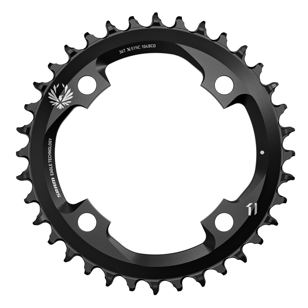 X-SYNC Eagle 104BCD Chainrings