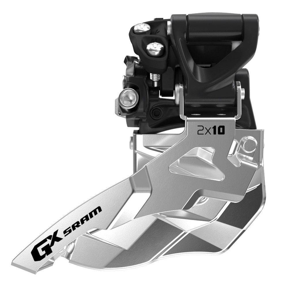 GX 10-speed High Clamp Mount Front Derailleur