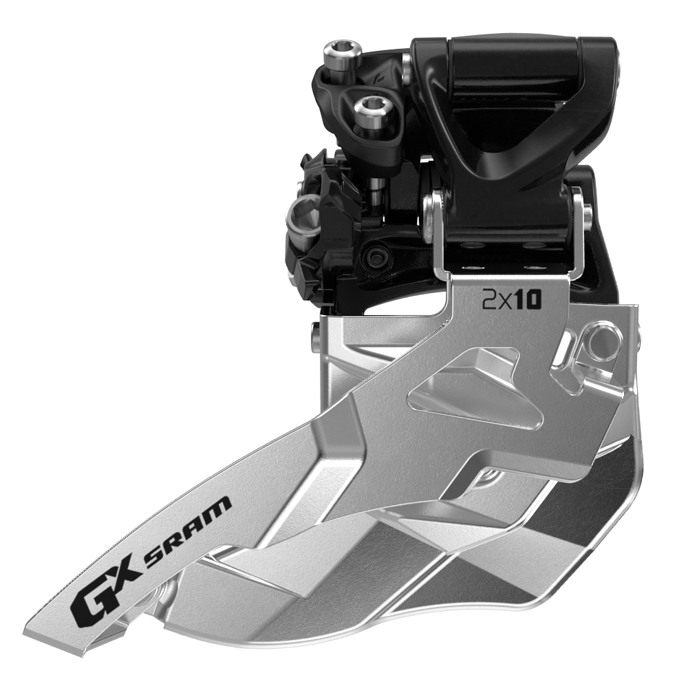 GX 10-speed Mid Direct Mount Front Derailleur